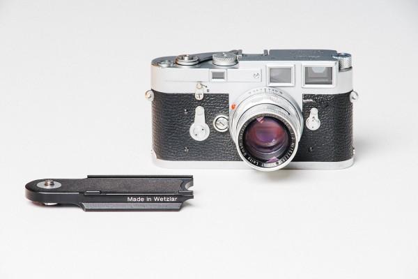 Leica M series Arca-Swiss type base plate Black